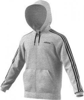 heiß adidas Sport ID Fleece Kapuzenjacke grey S, 38,96
