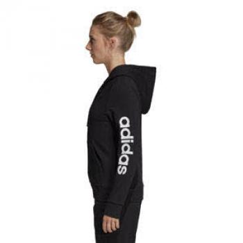 adidas Damen W E Lin Fz Hd Sweatshirt: Sport & Freizeit